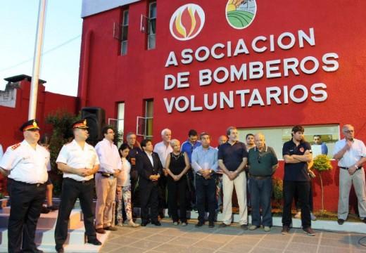 Cañada de Gómez. Bomberos Voluntarios festejó sus 55 años.