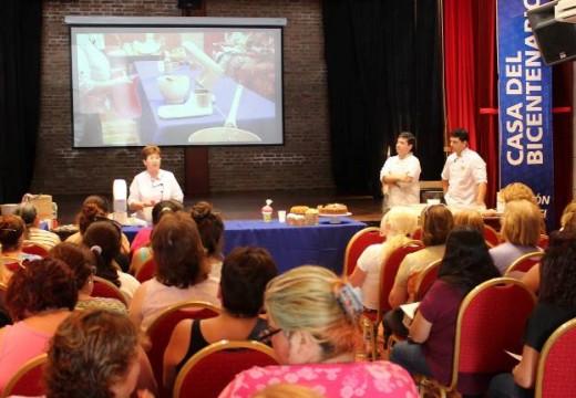 Cañada de Gómez. El municipio concreto a sala llena una nueva capacitación laboral.
