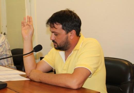 El concejal Díaz Patrón pidió por las conexiones de la Red Cloacal Barrio Quique.