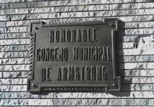 Armstrong. Orden del Día 1° de diciembre.