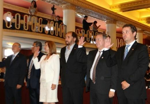 Diego Mansilla juró como Parlamentario del Mercosur.