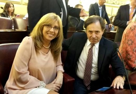 Claudia Giaccone juró como Diputada Provincial.