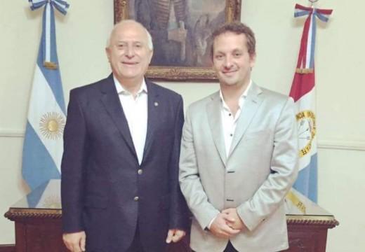 Diego Mansilla se reunió con Miguel Lifschitz.