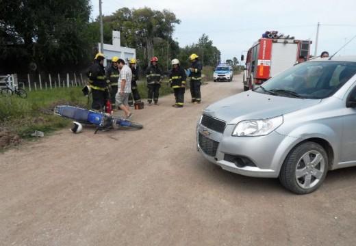 Armstrong. Lesiones graves culposas en accidente de tránsito.