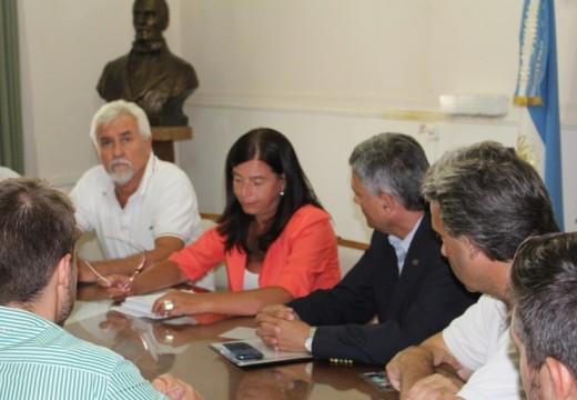 Cañada de Gómez. Autoridades municipales recibieron a funcionarios provinciales.