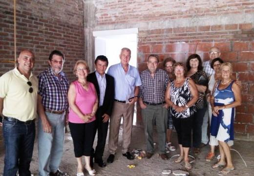 El Dip. Pcial. Miguel Solís entregó aportes a instituciones del Dto. Belgrano.