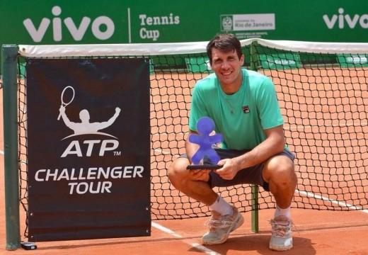 Bagnis imparable: ahora se consagró en el Challenger de Río de Janeiro.