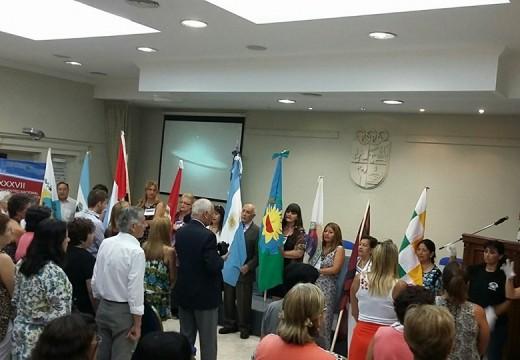 Se realizó el acto de apertura del XXXVII Encuentro Nacional de Maestros Rurales.