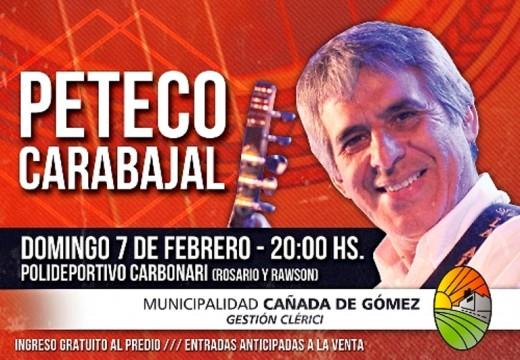 Peteco Carabajal cerrará la 29° Edición de Las Tres Lunas.