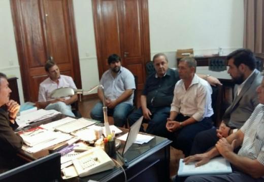 Reunión entre Horacio Compagnucci y el Dr. Carlos Torres en Casa de Gno.