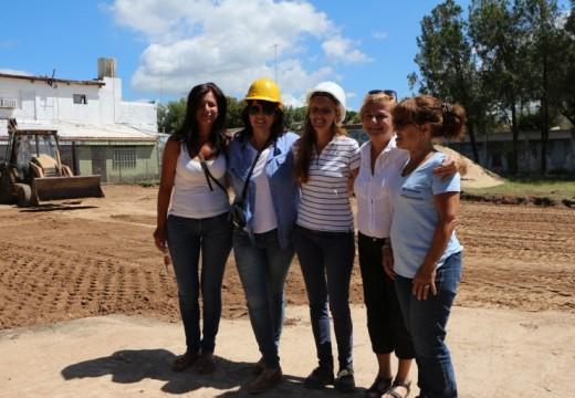 Clérici inició la construcción del primer jardín maternal público para Cañada.