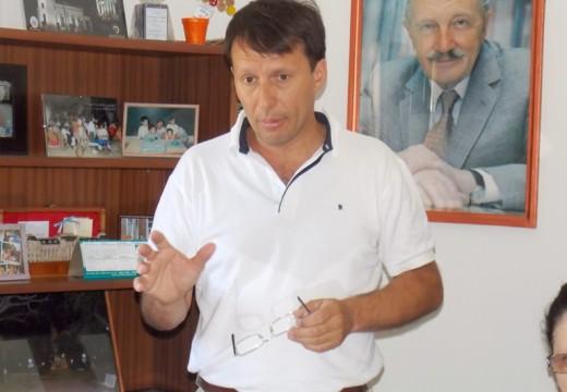 Correa. Se realizó el primer aporte del año a instituciones educativas.