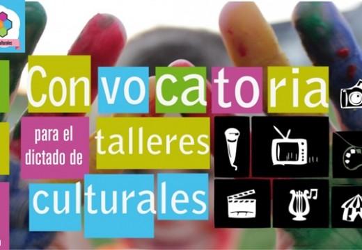 La Biblioteca Correa convoca a interesados en dictar talleres culturales.
