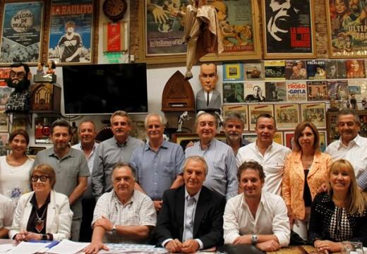 Diego Mansilla participó de la reunión de Diputados del Mercosur del FPV.