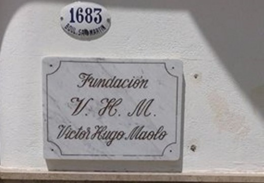 Trámites jubilatorios, Fundación Víctor Hugo Maolo.