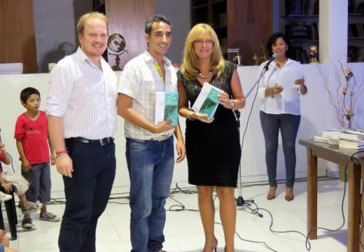 Giaccone felicitó a la Biblioteca de Correa en la presentación de su Plataforma Digital,