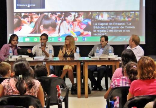 La Biblioteca Popular de Correa apuesta a la educación.