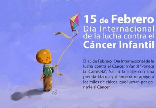 Rotary. Campaña de concientización del día Internacional del cáncer infantil 2016.