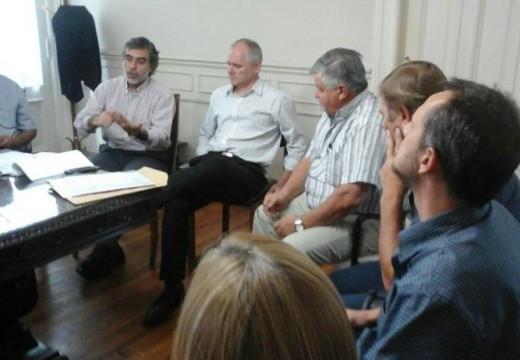 Compagnucci se reunió con el Ministro de Salud de la Provincia Miguel González.