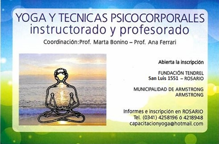 Armstrong. Inicio del Instructorado y Profesorado de Yoga 2016 ... 65b7b65e2d9e