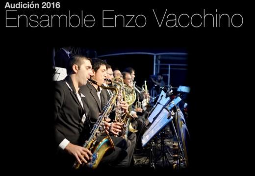 "Audiciones 2016 para integrar el Ensamble Municipal ""Enzo Vacchino""."