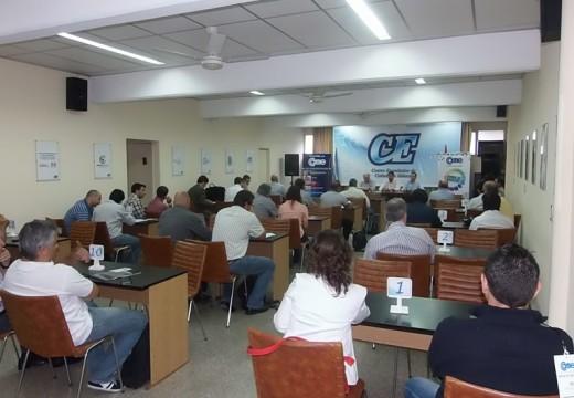 Exitosa ronda de negocios del sector mueble en Cañada de Gómez.