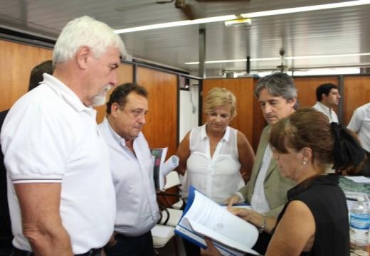 Clérici gestiona nuevas obras de protección hídrica para la ciudad.