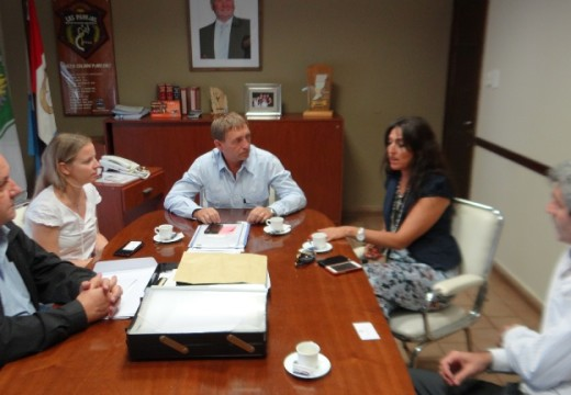 Horacio Compagnucci se reunió con la Nueva Directora del PAMI Rosario.