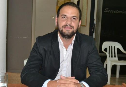 El Concejal Emiliano Gramigna solicito mejorar la entrada por calle Schaer.