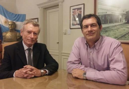 Acuerdo entre el municipio y la dirección de Catastro provincial.