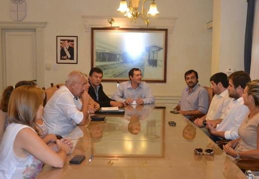 Coordinan acciones con municipios y comunas del Dto. Belgrano en materia habitacional.