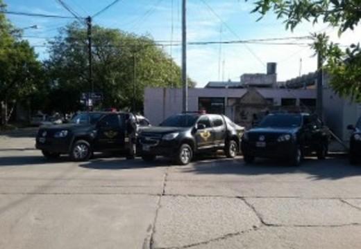 Cruz Alta: secuestraron 4,5 kg de droga. 9 detenidos entre ellos un oficial.