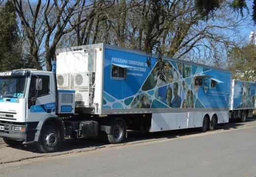 Armstrong. El lunes 11 de abril, llega el Camión Sanitario.