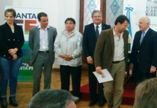Correa recibió aportes del fondo de emergencias hidricas.