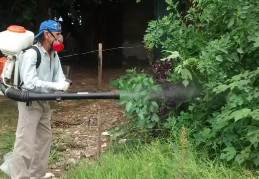 Bloqueo Sanitario por caso sospechoso de dengue.