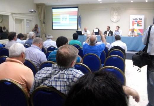Se llevó a cabo el encuentro de prestadores de agua y saneamiento de la Region 4.