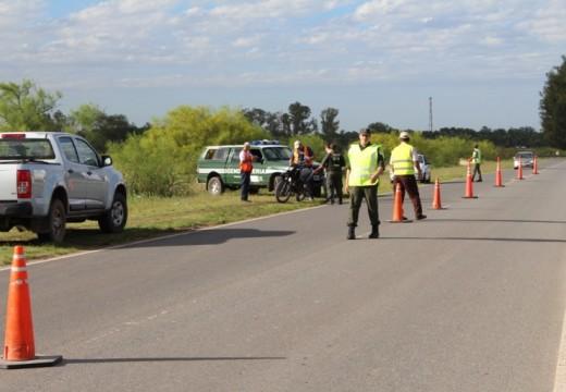 Cañada de Gómez. Continúa el trabajo en materia de tránsito y seguridad.