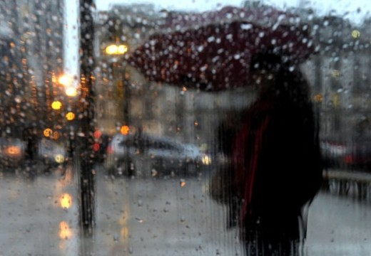 Alerta por lluvias y tormentas intensas.