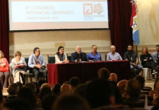 El Partido Socialista deliberando en la ciudad de Santa Fe.