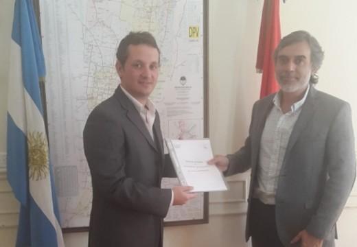 """«La coordinación de esfuerzos es clave"""", sostuvo el diputado del Mercosur."""