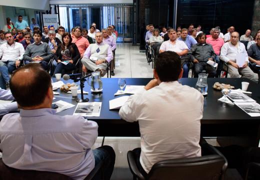 Municipales: paro y movilización a Las Rosas el 27 de Abril.