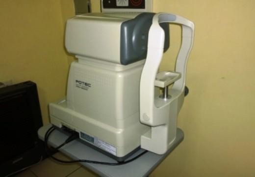 Las Parejas. Adquisición de un  Refractómetro para el Centro Oftalmológico Municipal.
