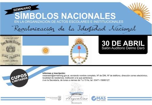 Armstrong. Seminario de Símbolos Nacionales.