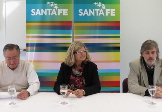 Balague abrió el curso para docentes de escuelas técnicas en  Las Parejas.