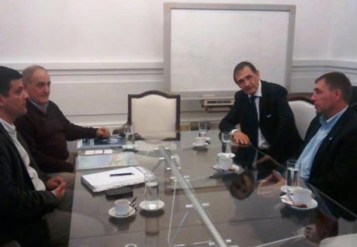 Compagnucci, realizó importantes gestiones ante el Gobierno Nacional.