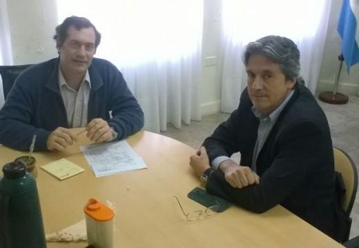 Verdecchia se reunió con el Ministro de Infraestructura José  Garibay.