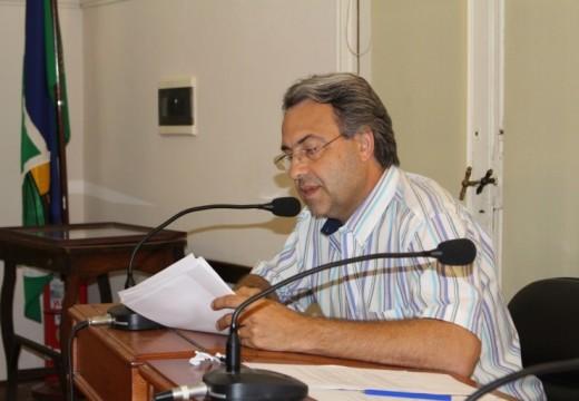 Casalegno se manifestó en Defensa de la Industria del Mueble.
