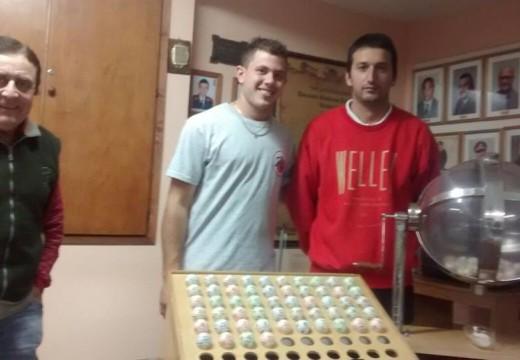 Ganadores del Sorteo N° 319 de la Tómbola Solidaria.