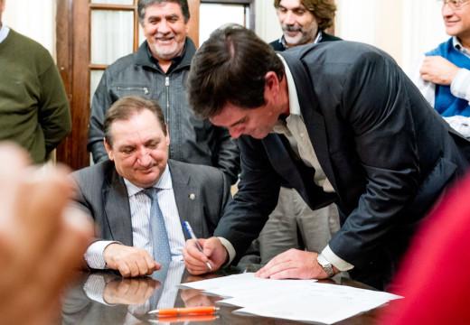 Se firmó un acta acuerdo en Santa Fe, y la municipalidad se pondría en marcha
