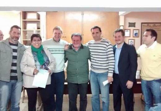 El Senador Guillermo Cornaglia entregó aportes a instituciones de la ciudad.